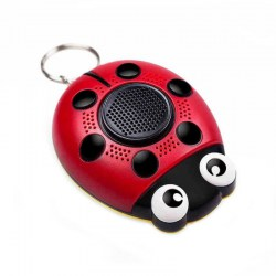 AF-4201 Beatle Shape Personal Self Defense Alarm with Loudspeaker & SOS Light
