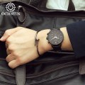OCHSTIN 050A Men Business Waterproof Chronograph Watch Leather Band Watch