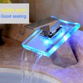 ZY-1602 Temperature Induced Discoloration Bathroom LED Light Basin Sink Faucet