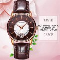 OCHSTIN 060A Vintage Lady Quartz Watch Simple Waterproof Female Wrist Watch