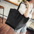2PCS/SET Women PU Leather Composite Bag Large Capacity Simple Lady Handbag