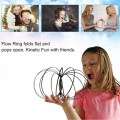Funny Flow Rings Arm Training Toy Kinetic Spring Bracelet Magic Flow Toy