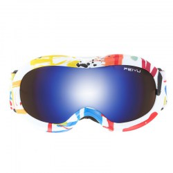 Children Ski Goggles Cycling Climbing Anti-fog Glasses