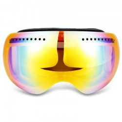 OBAOLAY H009 Unisex Spherical Anti-fog Lens Skiing Goggles Climbing Glasses Eyewear