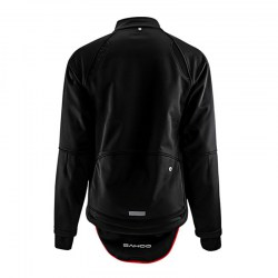 Cycling Windproof Full Zippered Windproof Polyester Fabric Jacket