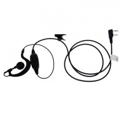 Hytera HACN - 01 C-shape Earhook Earpiece Microphone
