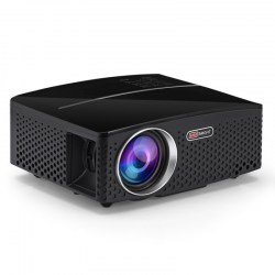 VIVIBRIGHT GP80 LED 1800 Lumens HD Mini Portable Projector for Home Theater Cinema Supprot 1080P USB HDMI