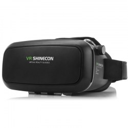 VR SHINECON 3D Virtual Reality Head-Mounted 3D Video Glasses with B100 Bluetooth 3.0 Remote Controller for 4.7 - 6.0 inch Smartpho......