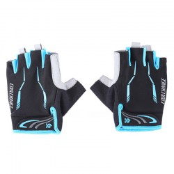 CoolChange Paired Breathable Half Finger Bicycle Biking Glove