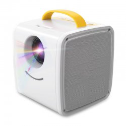 Q2 Portable Mini LCD Projector Home Theater Dual Speakers Support Full HD 1080P