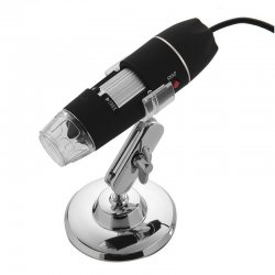 USB Microscope 0 - 500X 8 LED Digital Camera Magnifier