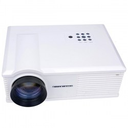 PH580 LCD 3200 Lumens 2000:1 Contrast Portable LED Projector with HDMI USB TV AV VGA (US Plug)