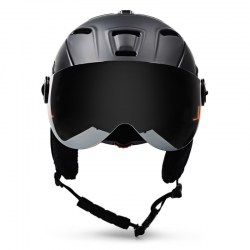 Moon Adult 2-in-1 Ski Helmet Protective Goggles for Skating Snow Sports