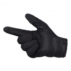 Cold Weather Fleece Windproof Winter Touch Screen Gloves for Smart Phone