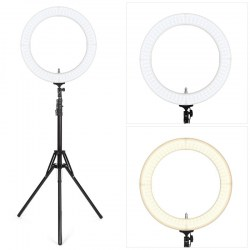 18 inch Outer Dimmable LED Ring Light for Camera Smartphone