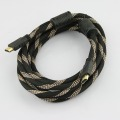 10 Ft gold HDMI Male to Male cable for flat TV HDTV DVD