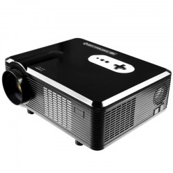 Excelvan CL720 LED Projector 3000 Lumens 1280 x 800 Pixels for Home Entertainment