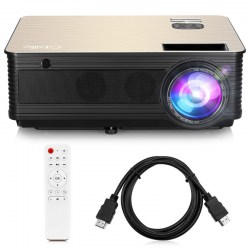Refurbished GBlife M5 LCD Video Projector Portable LED 4000lm HDMI Keystone Home Cinema