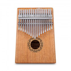 W - 17T 17 Keys Kalimba Thumb Piano Mahogany Body Musical Instrument
