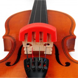Violin Accessories Rubber Violin Mute Durable Rubber Practice Mute Silencer