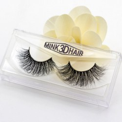 Natural False Eyelashes Lashes Long Makeup 3D Mink Lashes Extension