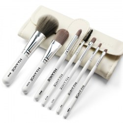 MAANGE MAG5767 Beauty Portable Makeup Brush with Bag 7pcs