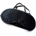 Eye Mask Cover Shade Blindfold Sleeping Travel Black