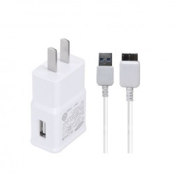 1.5A 5V US Plug Wall Charger + MICRO USB B Cable For Samsung GALAXY Note 3 N9000 charging