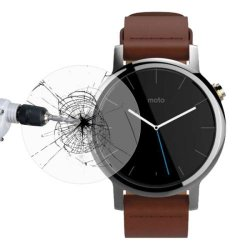 0.26mm Ultra Thin 2.5D 9H Tempered Glass For Moto 360 2nd Gen 42mm Wtach Protective Glass Film