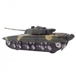 Children Kid Toys Gift Remote Control Tank Rechargeable Chinese 99 Main Battle Tank Model Green