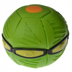 Flying Disc Sports Plat Ball with Light Green