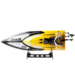 , remote control ship High simulation model antitilt, high speed wireless 2.4G, yellow, white for option