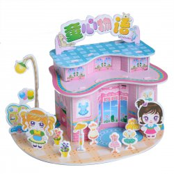 Funny Puzzle  3D Puzzle Children Theme Form Board