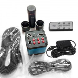 14MP HDMI Electronic Industry Digital Microscope + C-mount Zoom Lens Kit